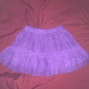 Purple Tulle Skirt - 3T - LIKE NEW!!!